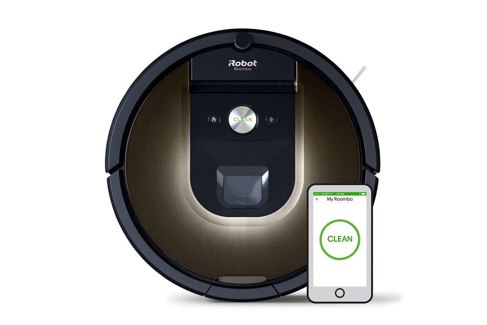 iRobot Roomba 980 Wi-Fi Connected Robot Vacuum