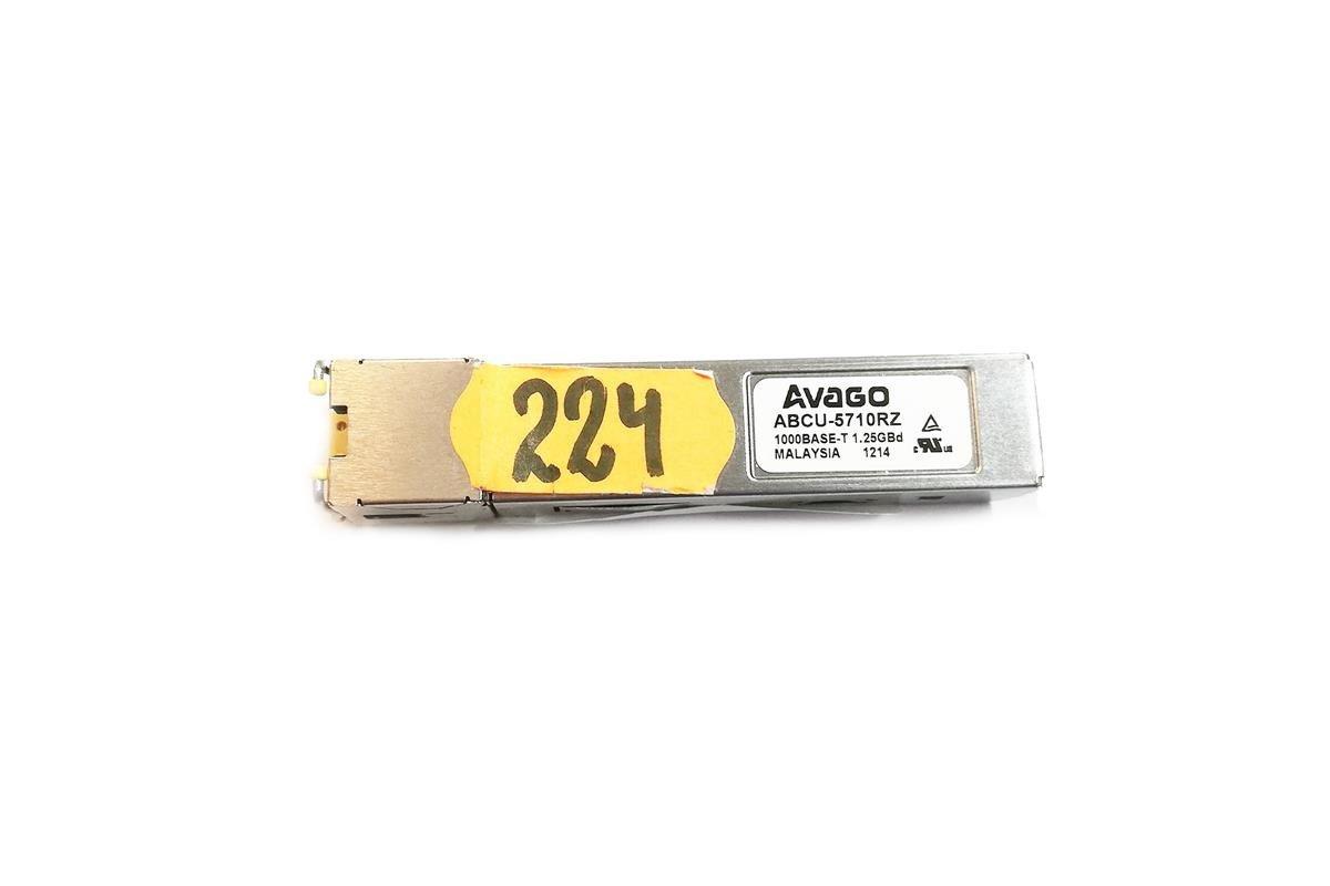 Fiber Optic Transceiver SFP Avago ABCU-5710RZ 3.3 V/1.25 Gbps