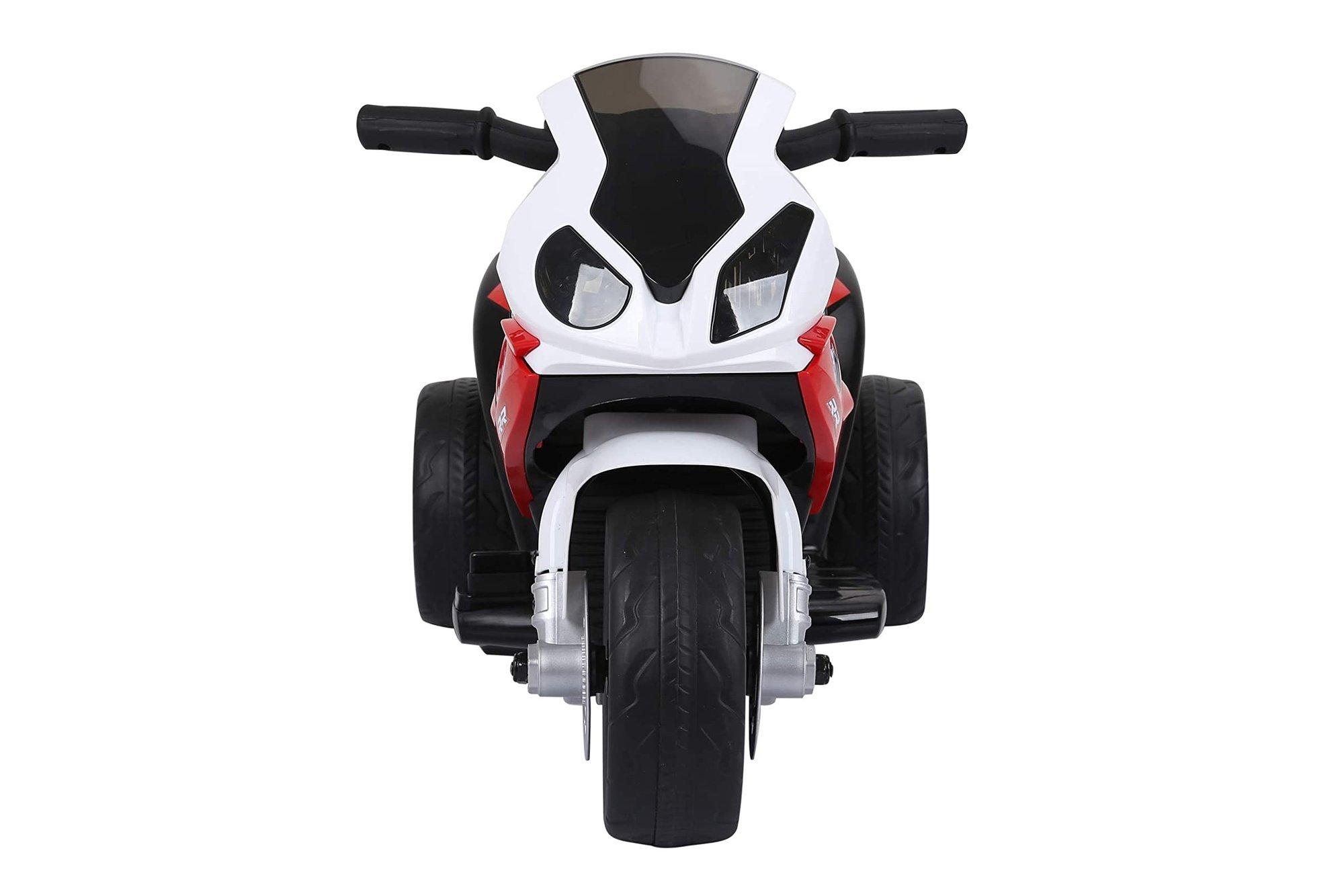 HOMCOM Electric Kids Ride auf BMW Motorrad mit roten Scheinwerfern