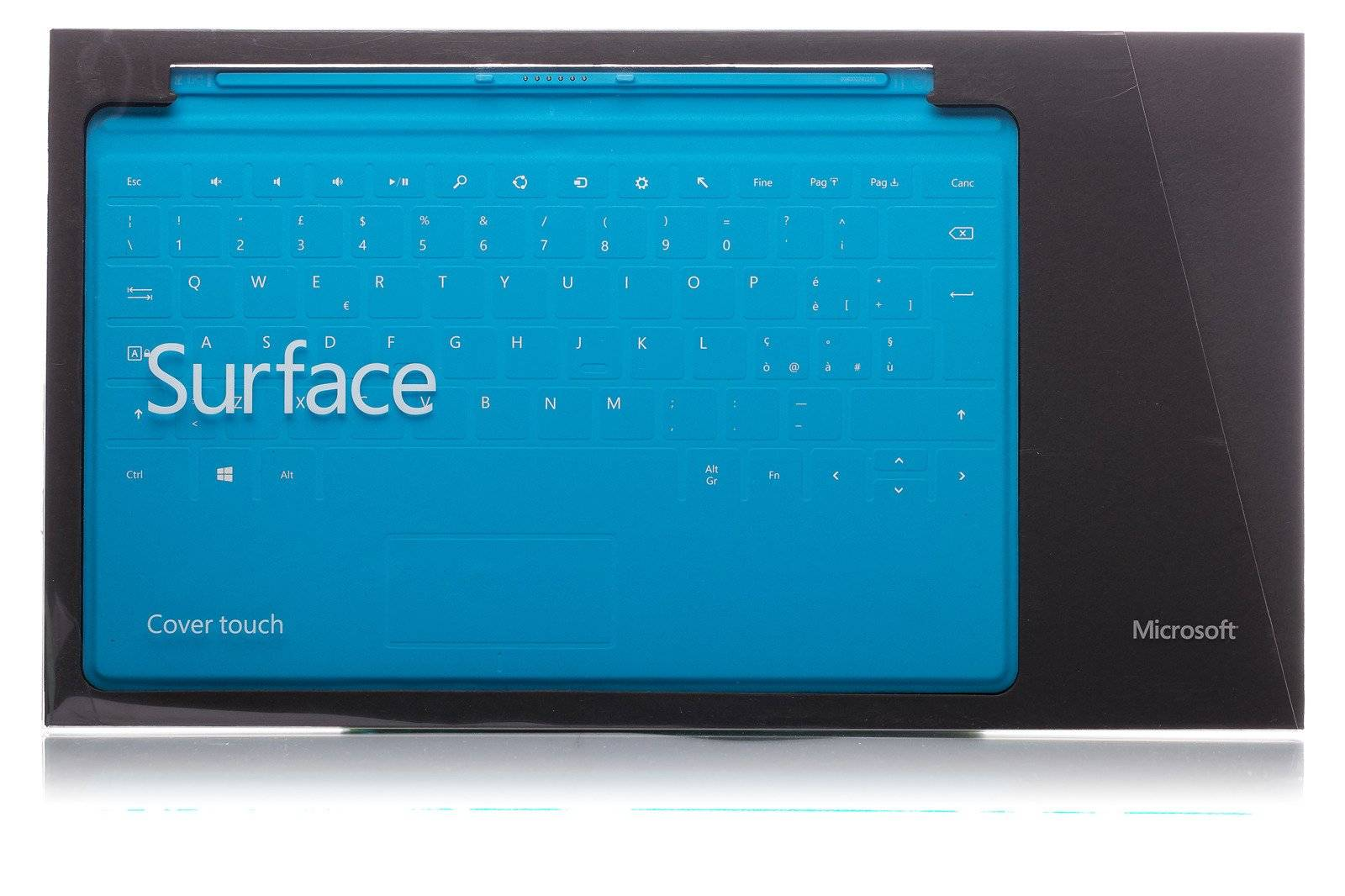 Keyboard Microsoft Surface Touch Cover 1 Cyan QWERTY (Italienisch)