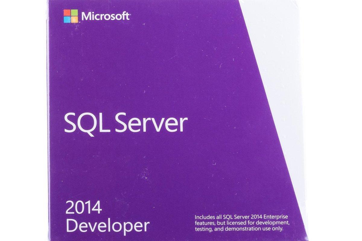 Microsoft SQL Server Developer 2014 E32-01096 English Not To US