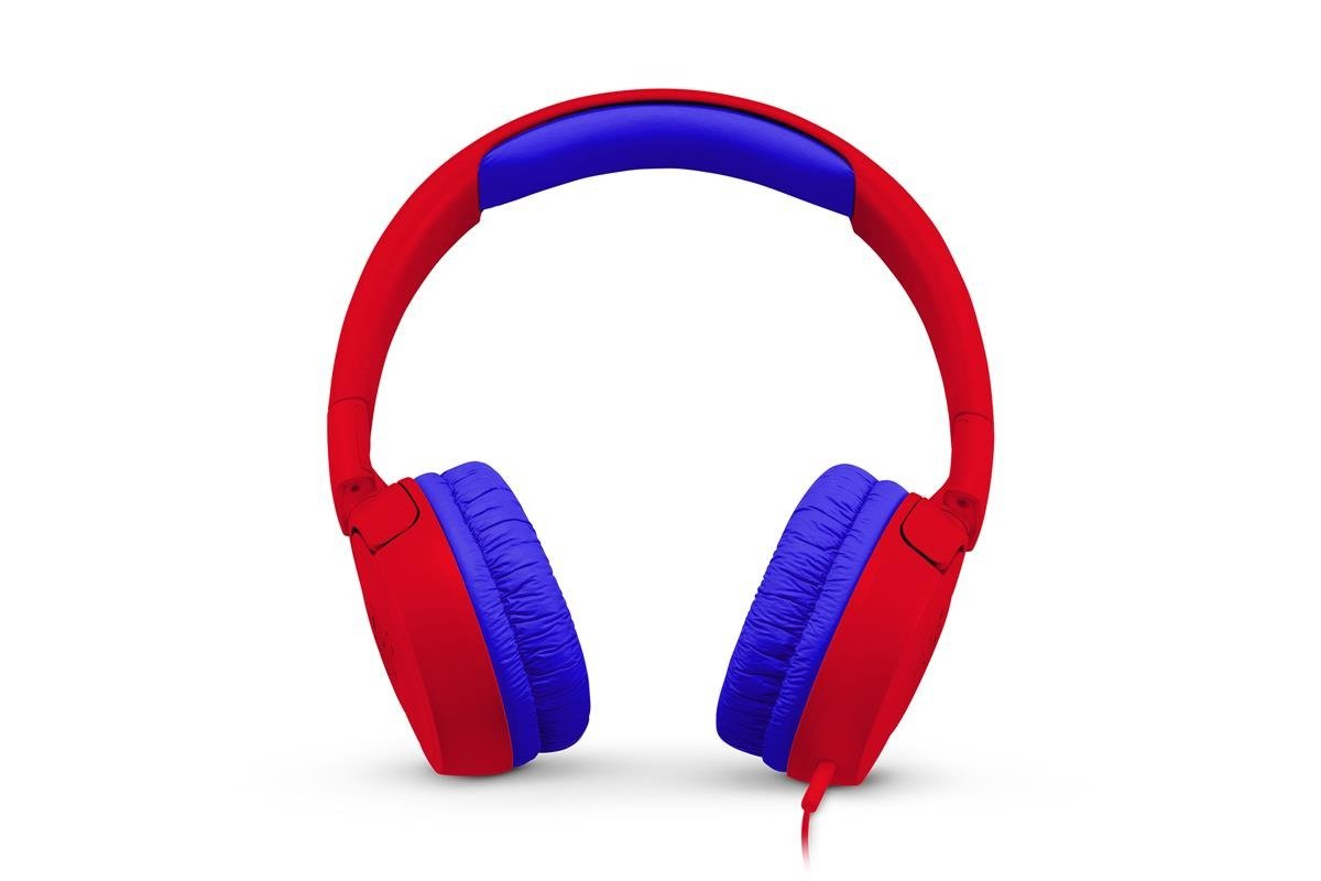 Neu OVP Kids On-Ear-Kopfhörer JBL JR-300 (JBLJR300RED) JR300