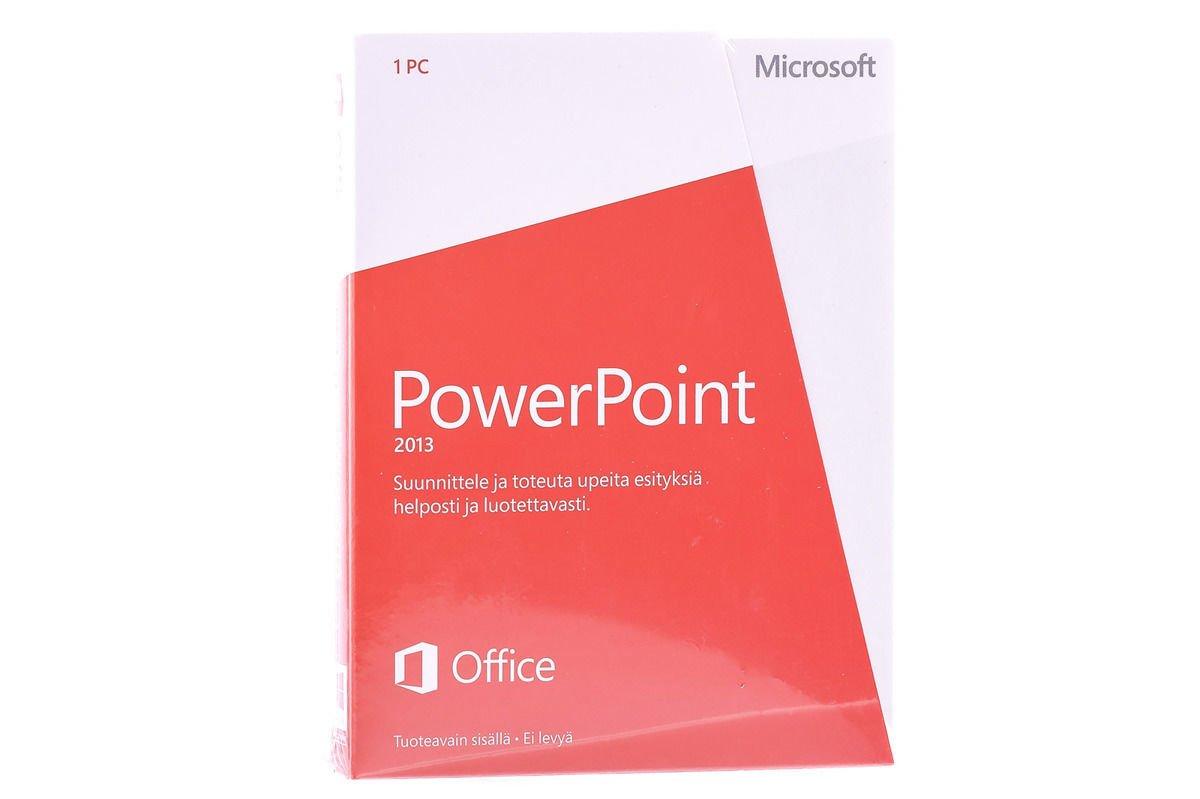 Neu OVP Microsoft Powerpoint 2013 079-05888 finnische Medialess Eurozone