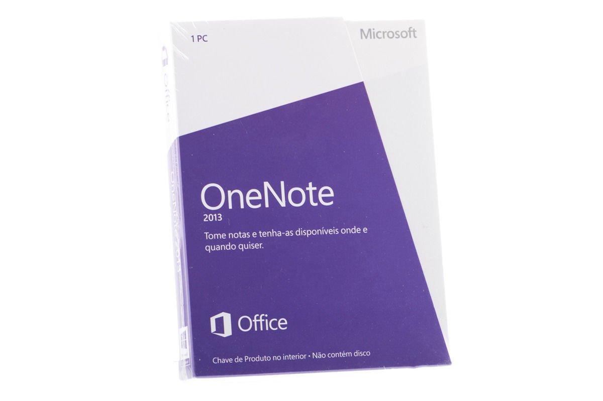 Neu OVP Original-Microsoft OneNote 2013 S26-05099 Medialess Eurozone