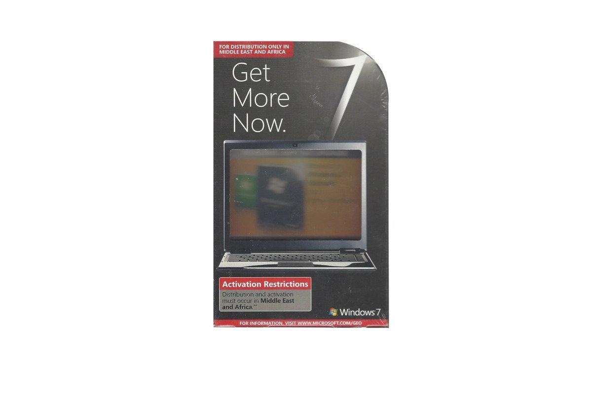 Neues Windows 7 Upgrade auf Ultimate für PC 39C-00043 32/64 bit Mittlerer Osten / Afrika BOX