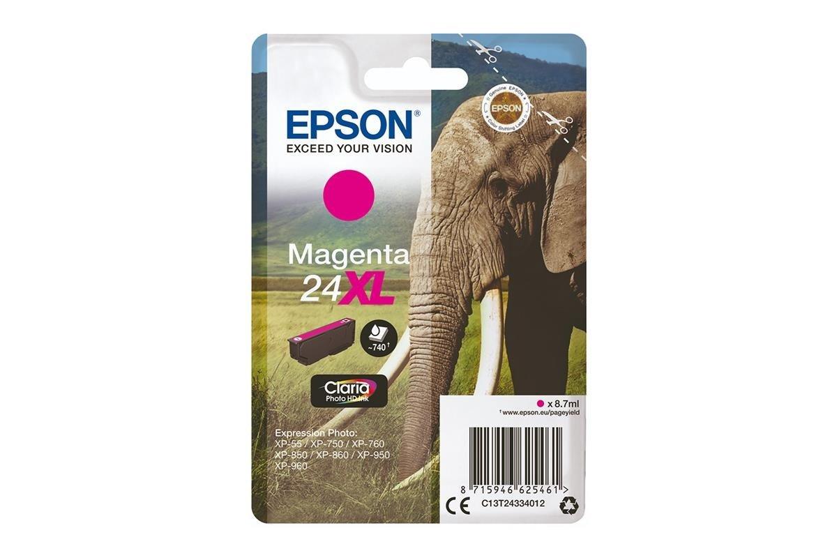 Original Tintenpatronen Epson 24XL T2433 C13T24334012 Magenta