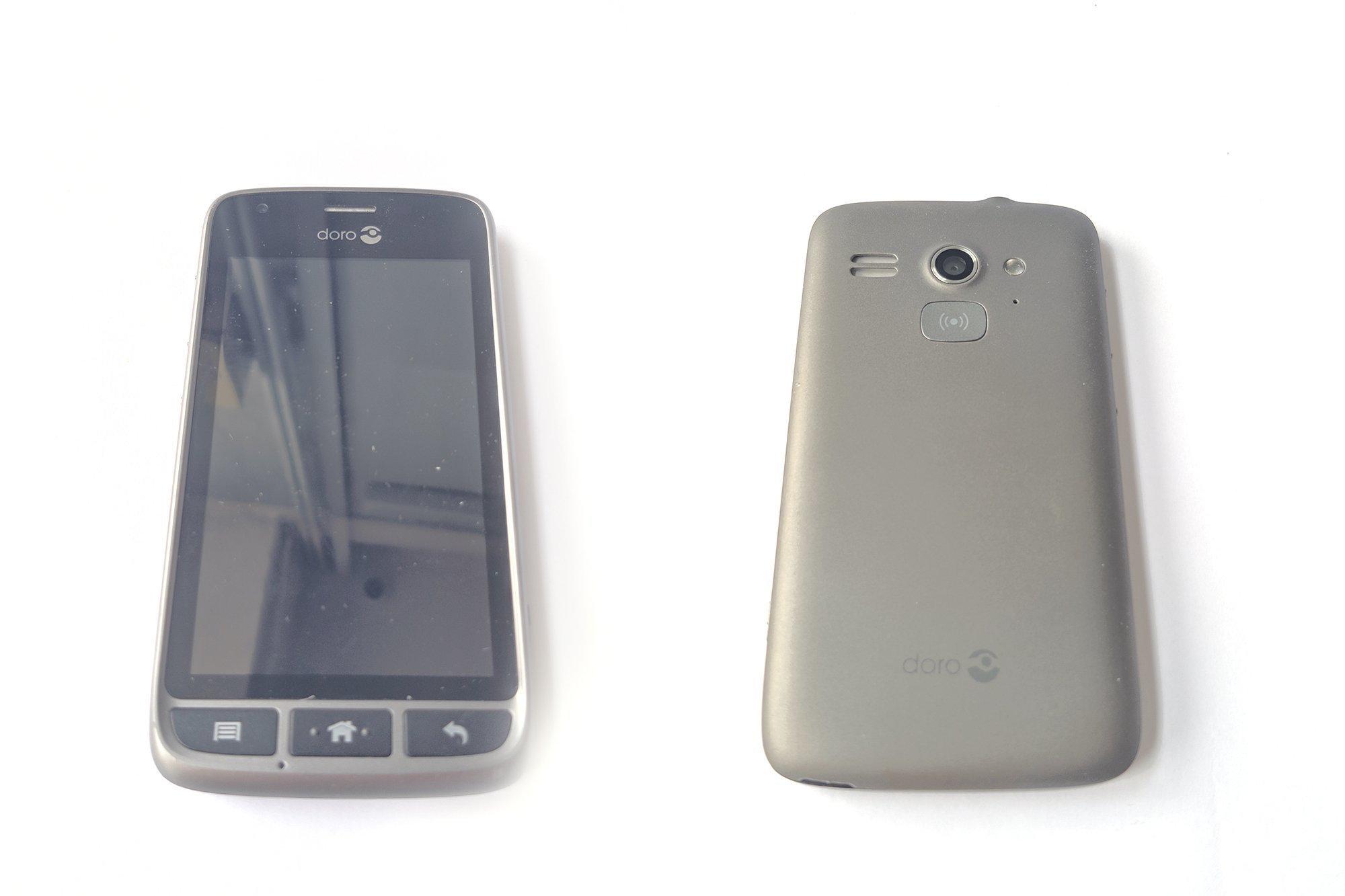 Smartphone Doro Liberto 820 mini Steel Black DSB-0010 Damaged / Faulty
