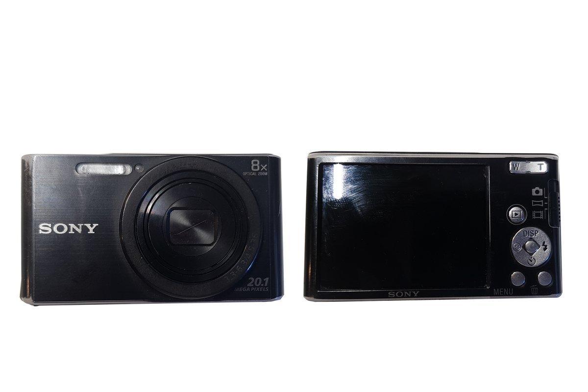Sony Cyber-shot DSC-W830 Kompaktkamera 20.1Mpx Zoom 8x Black Grade C