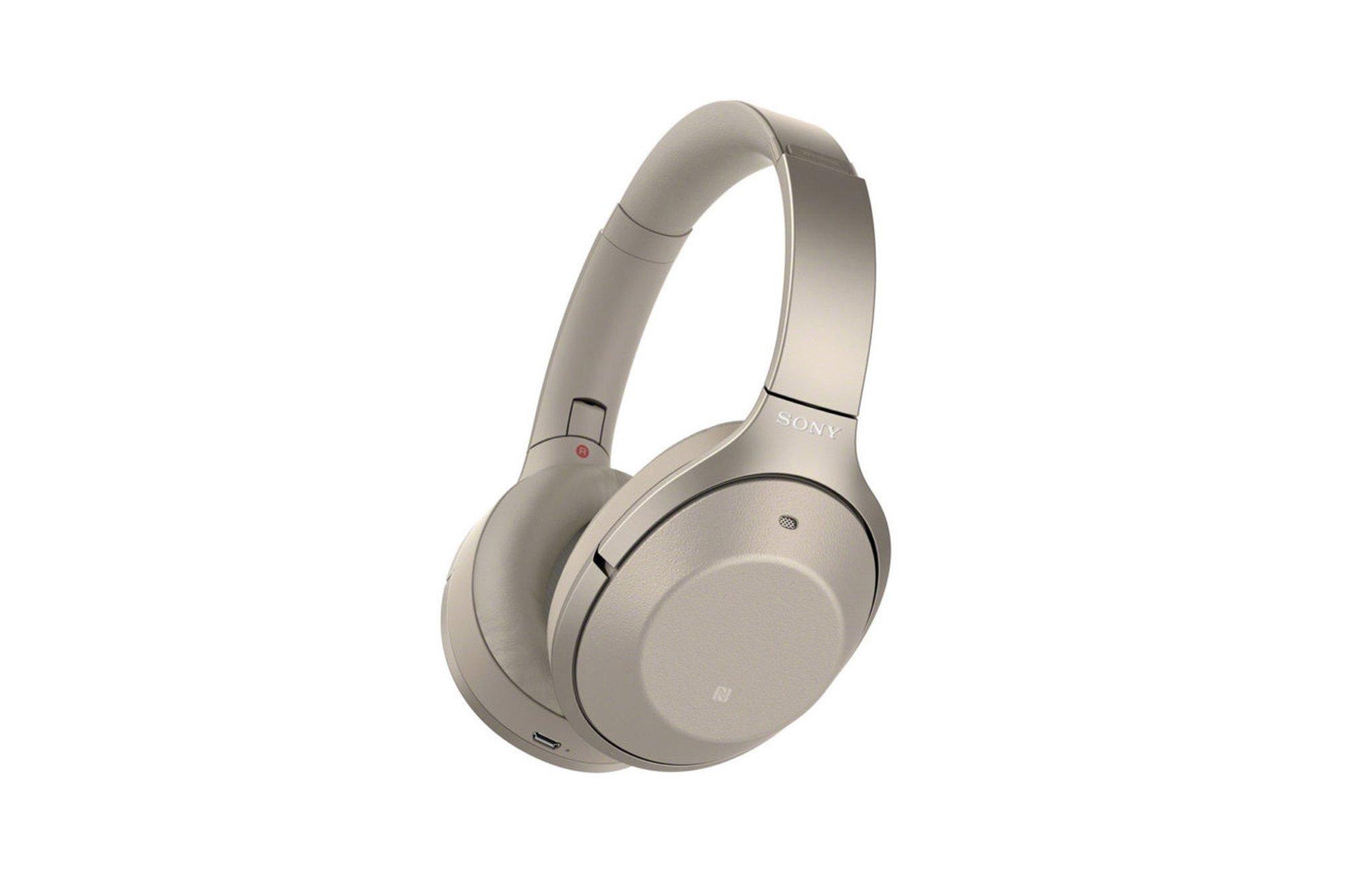 Sony WH1000XM2 Premium Wireless Noise Cancelling Headphones Black