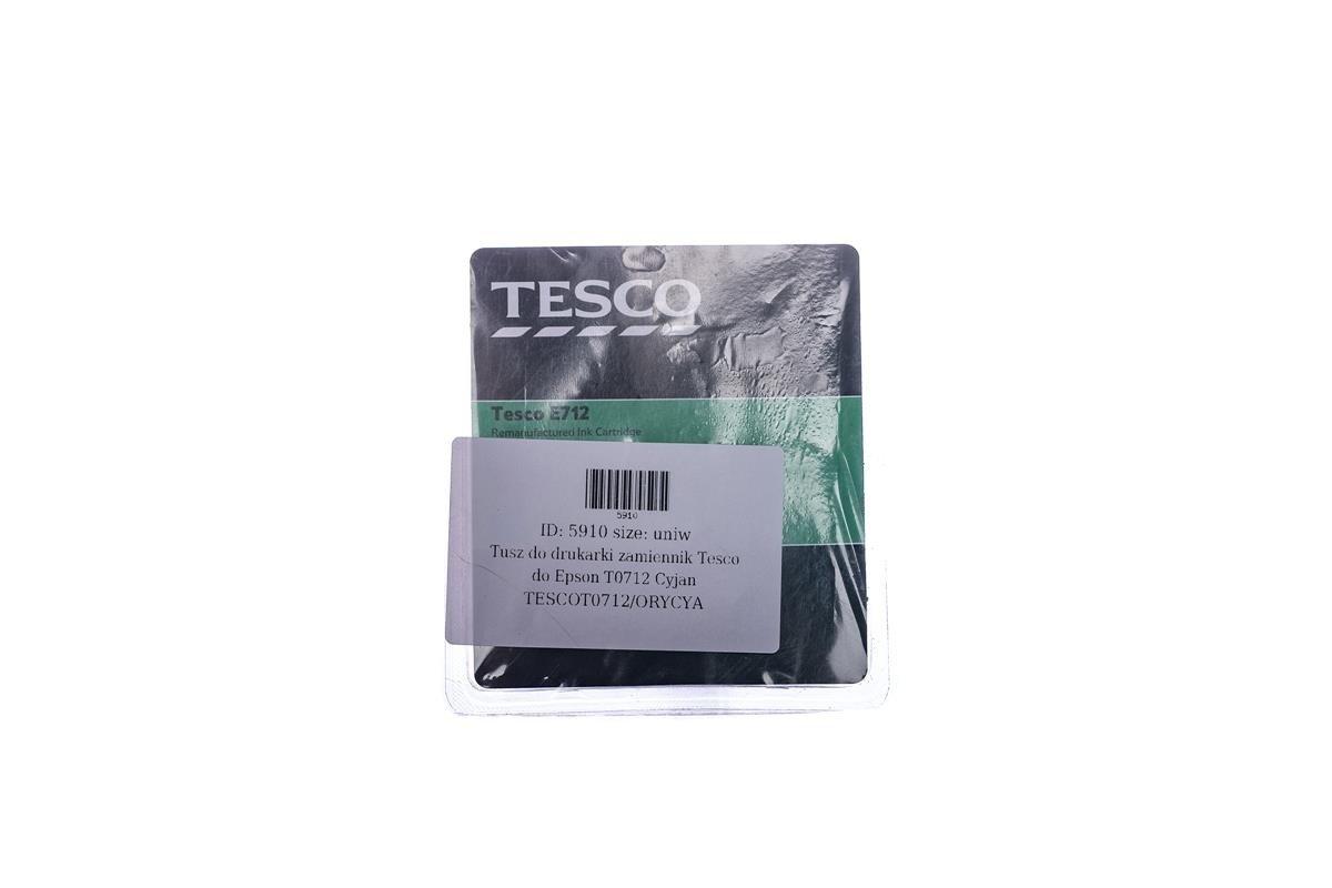 Tesco Tintenpatronen remanufactured Epson T0712 Cyan