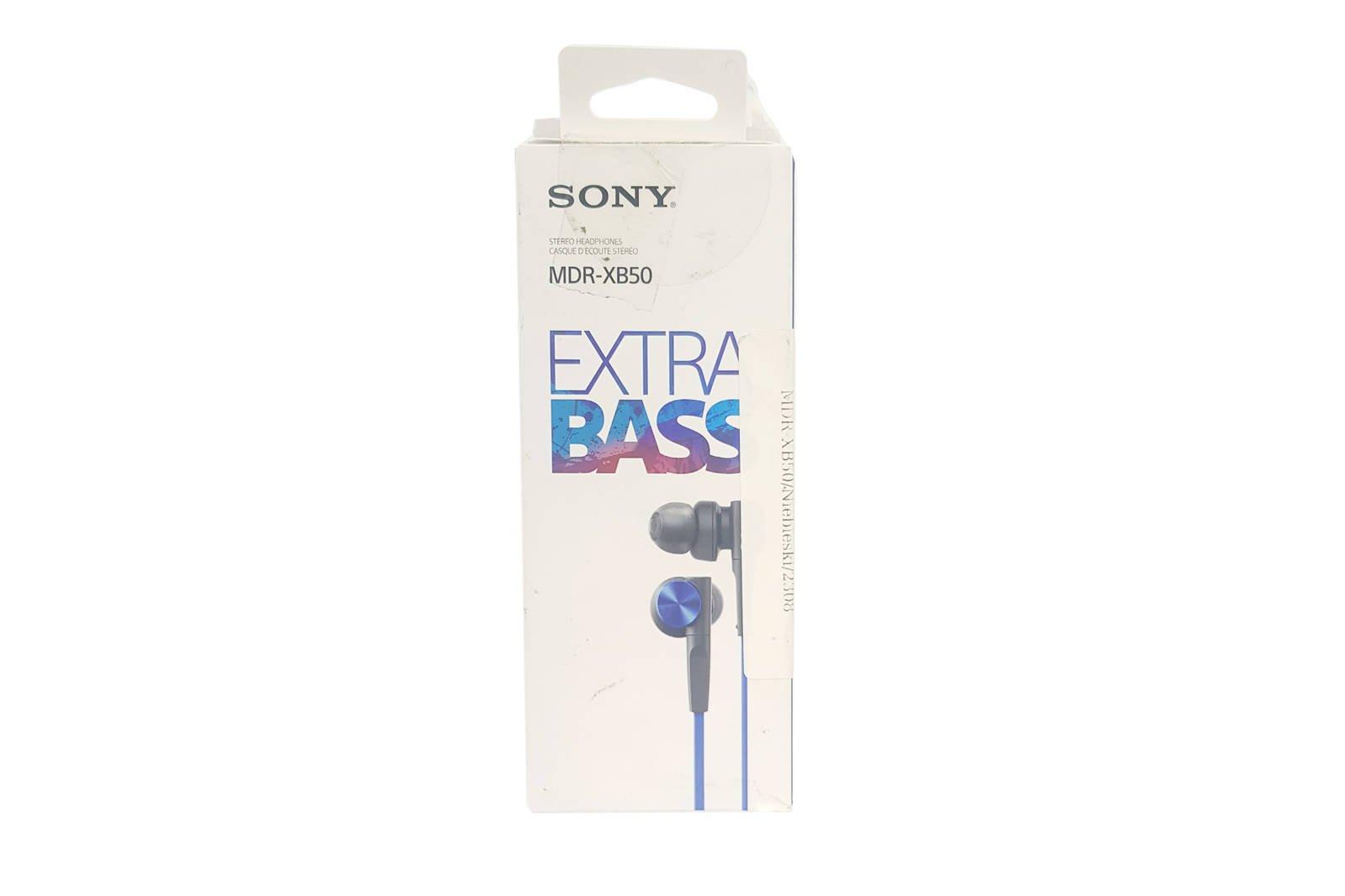 In-Ear Kopfhörer  Sony MDR-XB50 Blau