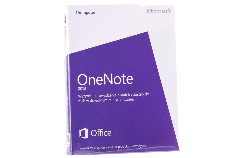 Neu OVP Microsoft OneNote 2013 32/64 Medialess S26-05097 Eurozone