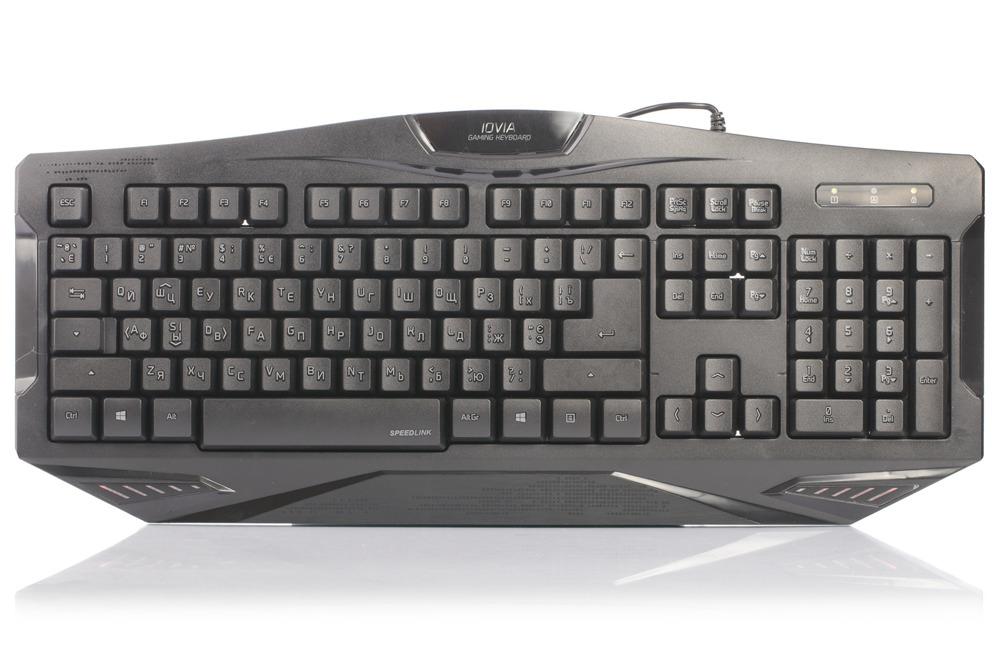 Neue OVP Speedlink Iovia Gaming Tastatur Keyboard