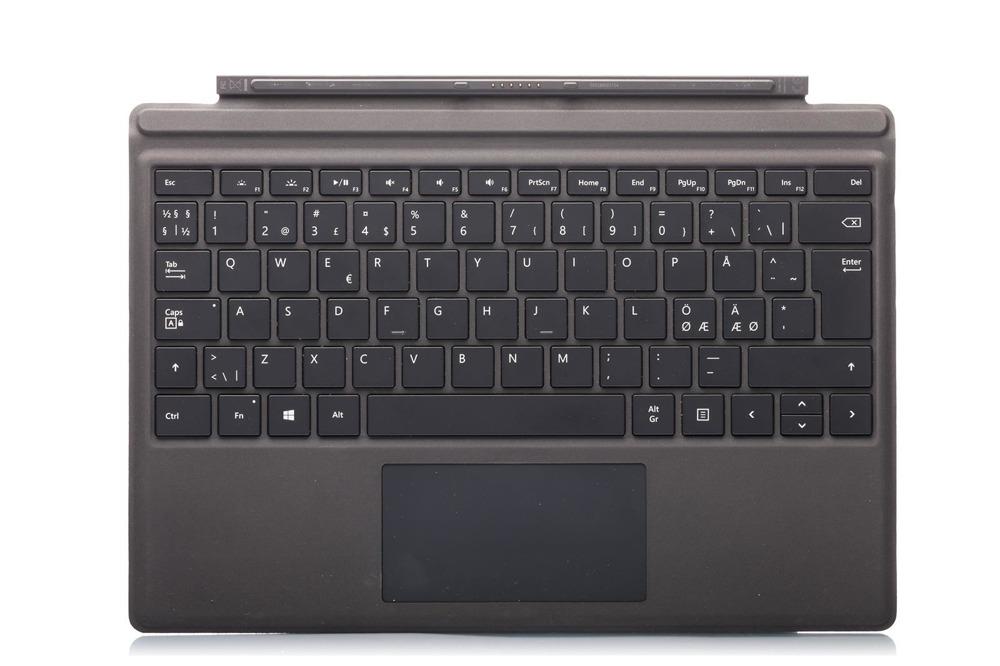 Tastatur Surface Type Cover Pro 4 Schwarz Grade B (nordisch)